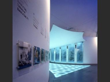 Eva Jiřičná, Faith Zone, The Millennium Dome, Londres