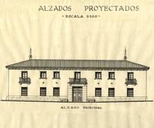 Rita Fernández Queimadelos. Reconstrucción del edificio del Patronato de Protección a la Mujer, San Fernando de Henares