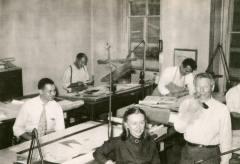Anne Tyng y Louis Kahn, 1947