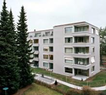 Gret Loewensberg, Residencia para mayores, Albisrieden, 2008-2009