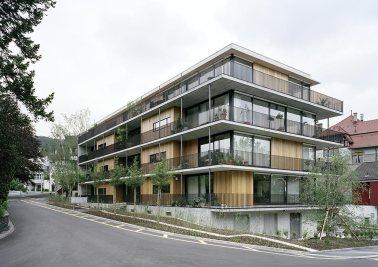 Gret Loewensberg. Edificio de viviendas Hinterbergstrasse. Zurich, 1999