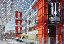 Patty Hopkins. Hopkins Architects. Evelina Children's Hospital, Londres, Reino Unido, 2005