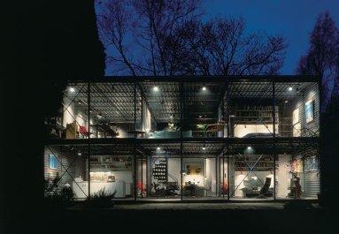 Patty Hopkins. Hopkins Architects. Hopkins House Hampstead, London, Reino Unido, 1976.