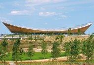Patty Hopkins. Hopkins Architects. London 2012 Velodrome London, Reino Unido, 2011