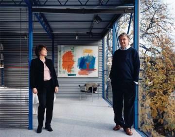 Patty Hopkins; Sir Michael John Hopkins