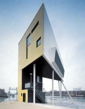 Julia Bolles y Peter Wilson, Casa y torre de vigilancia del Puente, Holanda