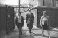 Marilyn Jordan Taylor con Boris Lipkin y Matthew Rao de High Speed Rail Studio