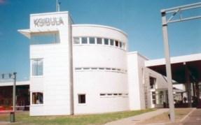 Mai Šein: Aduana y puesto fronterizo en Koidula (Estonia). Vista general.