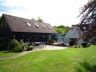 Jane Duncan, remodelación de casa y granero, Hyde Heath