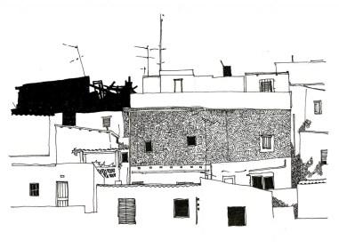 Rosa Barba, Elementos de información para una propuesta de vivienda social al barrio de Vallbona. 1973 - 1978.