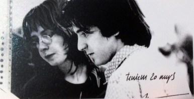 Rosa Barba y Ricard Pié. 1969