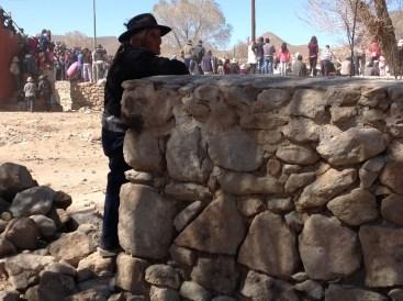 Diana Cabeza. Puna Mujer en muroToreo de la Vincha_ Casabindo_ Jujuy