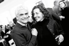 Cecilia Puga y Pablo Costabal