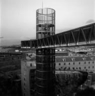 Atxu Amann, Andrés Cánovas, Nicolás Maruri, Temperaturas Extremas, Martín Lejárraga, Torre de ascensor y Museo-Refugio de la Guerra Civil, Cartagena, Murcia, 2003-2004