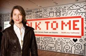 Paola Antonelli, Talk to me, MoMA, Nueva York