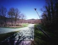 Carme Pigem, RCR Arquitectes. Estadio de Atletismo Tussols-Basil, Olot, Girona, proyecto 1991 realización 1999-2002 ampliación 2009-2011