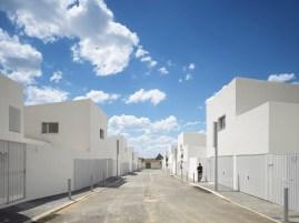 María Hurtado de Mendoza, César Jiménez de Tejada, José María Hurtado de Mendoza, Estudio Entresitio, 43 viviendas de protección pública, Amuradiel, Ciudad Real