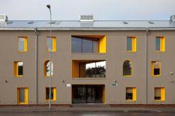 Siiri Vallner, Indrek Peil, Kaire Nõmm, Kavakava Architects, Majutusüksus (Alojamiento temporal para personas sin hogar), Tallinn, Estonia, 2010-2012
