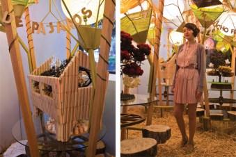 """Izaskun Chinchilla, exposición """"Casa: Árbol, Chocolate, Chimenea"""" en el Espacio para Arquitectura Liga, México DF, 2012"""