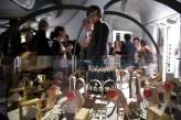 """Izaskun Chinchilla, Carlos Giménez, alumnado de la Escuela de arquitectura Bartlett, exposición """"Unit 22 Zoetropes"""", Galeria Roca, Londres, 2012"""