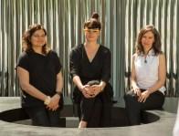 Ana Miljački, Eva Franch i Gilabert y Ashley Schafer, Curadoras de OfficeUS, Bienal de Arquitectura de Venecia, 2014.