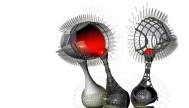 María José Marcos. Magicarch. Floating shell, Prototipo de reductor magnético self-sufficient en Nueva York.
