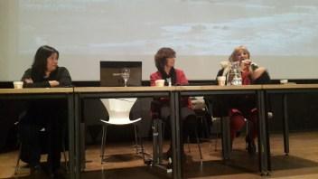 Julia Romero, Adela Martínez y Adriana Lucchetti
