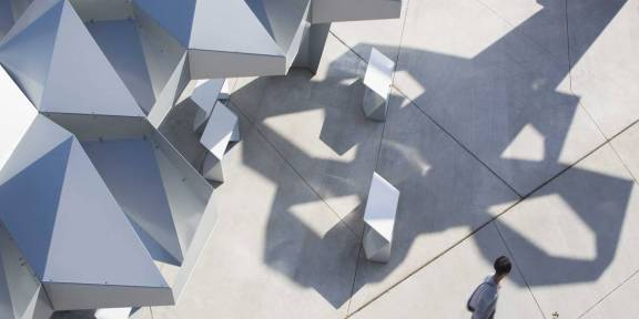 Meejin Yoon. Shadow Pay, espacio público, 2013