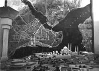 Leyla Asim Turgut, Henri Prost, et alt., Plan director para Estambul, 1936-1951. Plan de circulación y maqueta