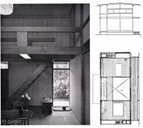 Hatsue Yamada, casa de dos pisos, 1962