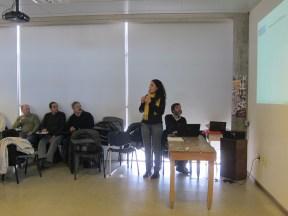 María Bernabela Pelli, Curso en Salto, Uruguay (2012)