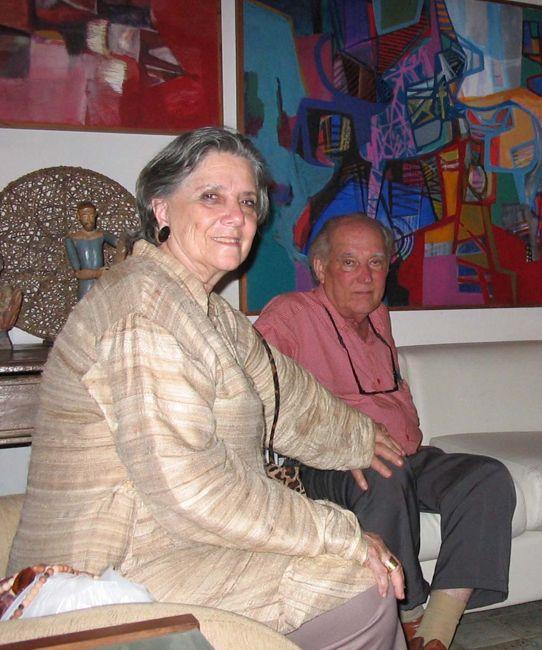 Janete Costa y su marido Acácio Gil Borsoi