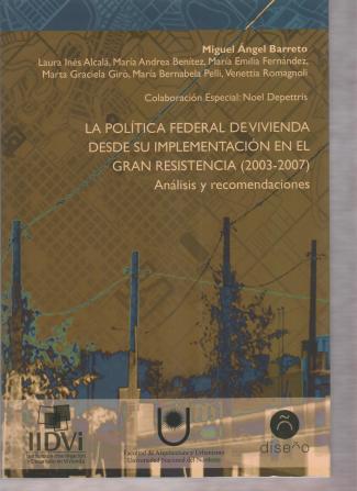 María Bernabela Pelli, Libro Politicas Habitacionales