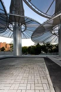Dolores Palacios, Soriano y Asociados Arquitectos. Ecochimeneas, Puente Vallecas - Madrid, 2010