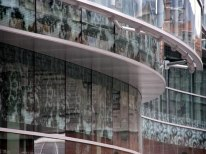 Dolores Palacios, Soriano y Asociados Arquitectos. Edificio Administrativo en Plaza Bizkaia, Bilbao, 2004