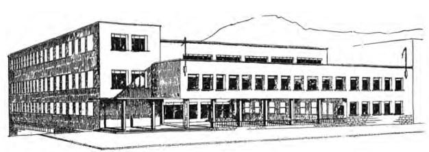 Münevver Belen, Proyecto para la Casa del Pueblo en Bursa, 1938