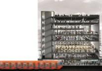 Rozana Montiel; Ejercicio conceptual rehabilitación de los edificios del sistema de transporte público,Ciudad de México, 2008-2015.