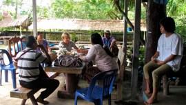 Line Ramstad, Gyaw Gyaw; Mae Tari Dormitory. 2013-2014.