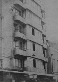 Luz Sobrino; Hotel Bio Bio, 1940.
