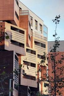 Špela Videčnik - OFIS Arhitekti; Basket Apartments, Paris, 2008-2013.