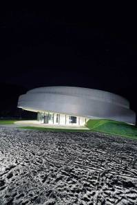 Špela Videčnik - OFIS Arhitekti y A. Dedleva, T.Gregoric, Cultural Center of EU Space Technologies (KSEVT) - Space Habitable Wheel, Vitanje, Slovenia, 2012