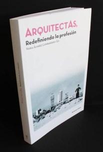 Nuria Álvarez Lombardero. Portada del libro 'Arquitectas: Redefiniendo la profesión'. Recolectores Urbanos. 2015.