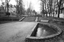 Lyubov Zalesskaya Shevcuck - Escalera cascada. Kislovodsk, 1935.