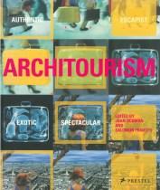Joan Ockman. Portada del libro 'Architourism'. Prestel. 2005.