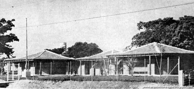 Matilde Ponce Copado,Escuela primaria rural, Fotografía de obra terminada, Cuba, 1959.