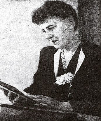 Florence Taylor, the tecknical editor, Sydney, 1928.