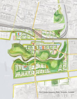 Port Lands Estuary. Reinventing the Don River as an Agent of Urbanism. Toronto. Canadá 2008.