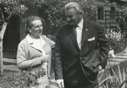 Hanna y Kazimierz Wejchert 1975, fot. Museo de la Ciudad en Tychy