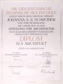 Han Schröder, Diploma