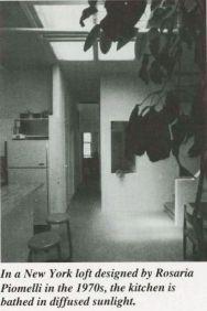 Rosaria Piomelli, loft en Nuev York